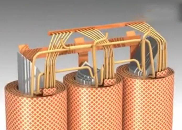 3d动画演示变压器的内部结构,长见识了!